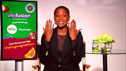 Tiffany Haddish Talks Thanksgiving Plans, Healthy Living and How She's Helping Fight Hunger
