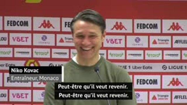 11e j. - Kovac ironise sur un retour de Mbappé à Monaco