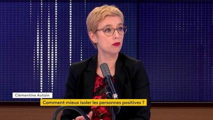 """Gestion de l'épidémie de Covid-19 : """"Nous avons au sommet de l'Etat une politique de gribouille, parce qu'on n'arrive pas du tout à suivre la logique"""", dénonce Clémentine Autain, députée La France insoumise"""