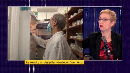 """Développement des vaccins contre le Covid-19 : """"Le fait qu'il y ait une privatisation de cette recherche ne donne pas toutes les garanties pour que tout un chacun se sente sécurisé"""", estime Clémentine Autain, députée La France insoumise"""