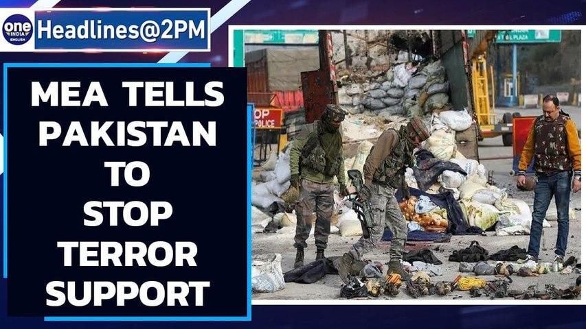 MEA tells Pakistan to stop exporting terror after #NagrotaEncounter   Oneindia News