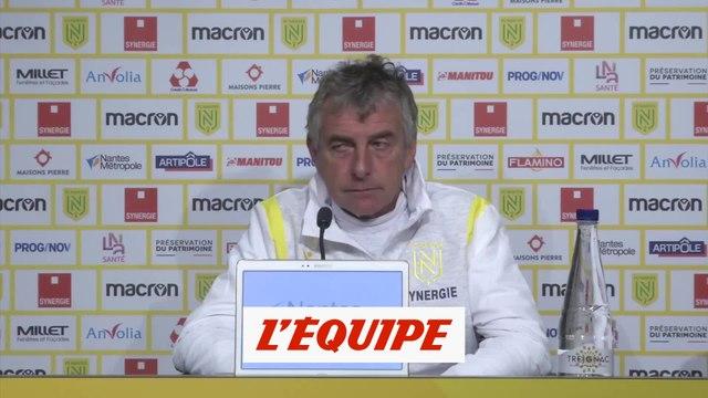Gourcuff : « Etre costaud collectivement et afficher de la maîtrise » - Foot - L1 - Nantes