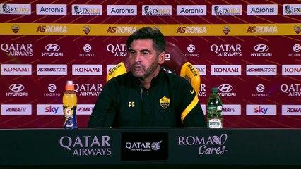 La conferenza stampa di Fonseca prima di Roma-Parma (21/11/2020)