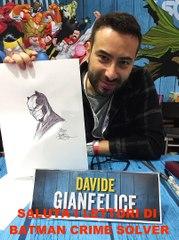 I saluti del diesegnatore Davide Gianfelice
