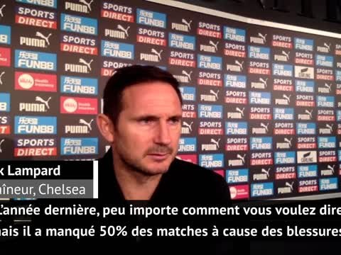 """9e j. - Lampard : """"On est très, très content du niveau de jeu de Kanté"""""""