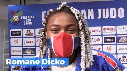 Championnats d'Europe seniors 2020 – Romane Dicko : « Ça n'a pas été deux ans de perdus »