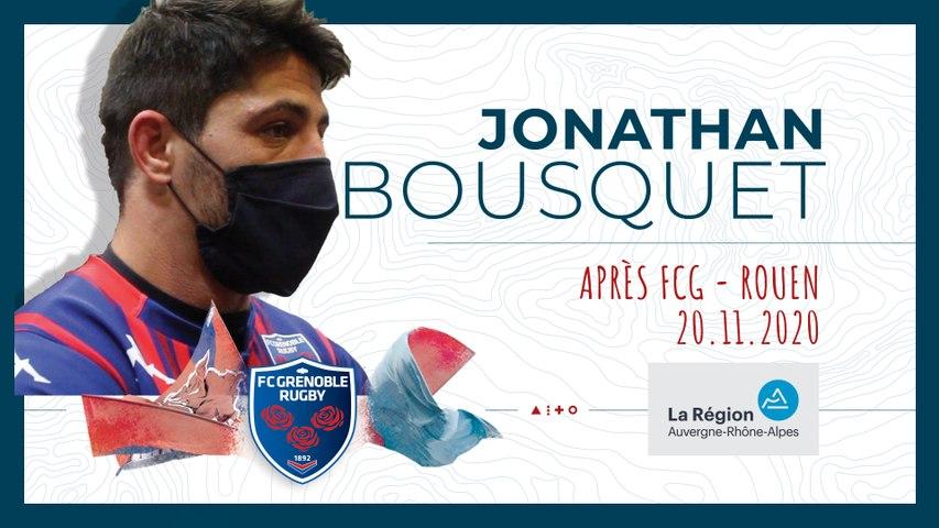 Rugby : Video - Jonathan Bousquet : « Notre leitmotiv, c'est de ne rien lâcher »