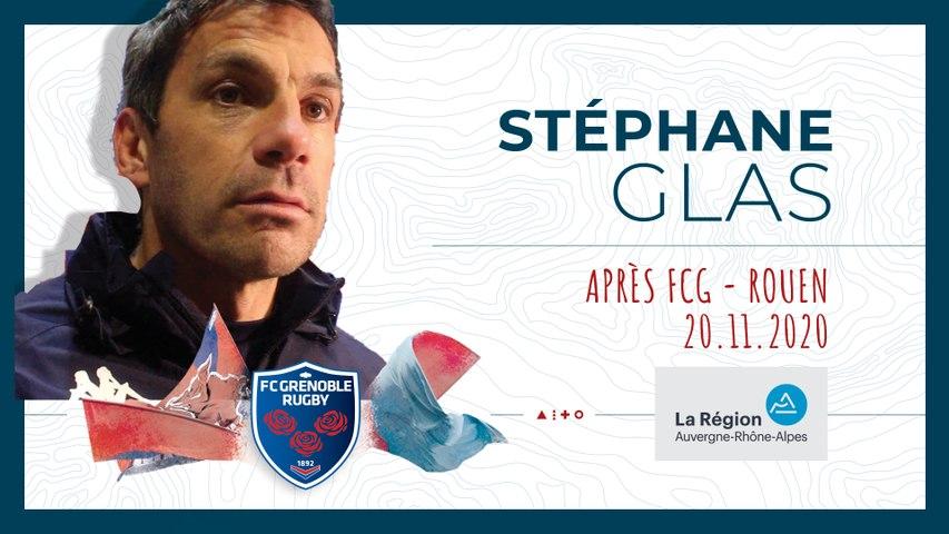 Rugby : Video - Stéphane Glas : « Tant qu?on aura cet état d'esprit, je croirai en cette équipe »