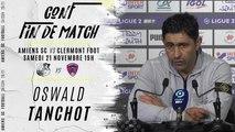 Conférence d'après match ASC-CF63: Oswald Tanchot