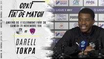 Conférence d'après match ASC-CF63: Darell Tokpa