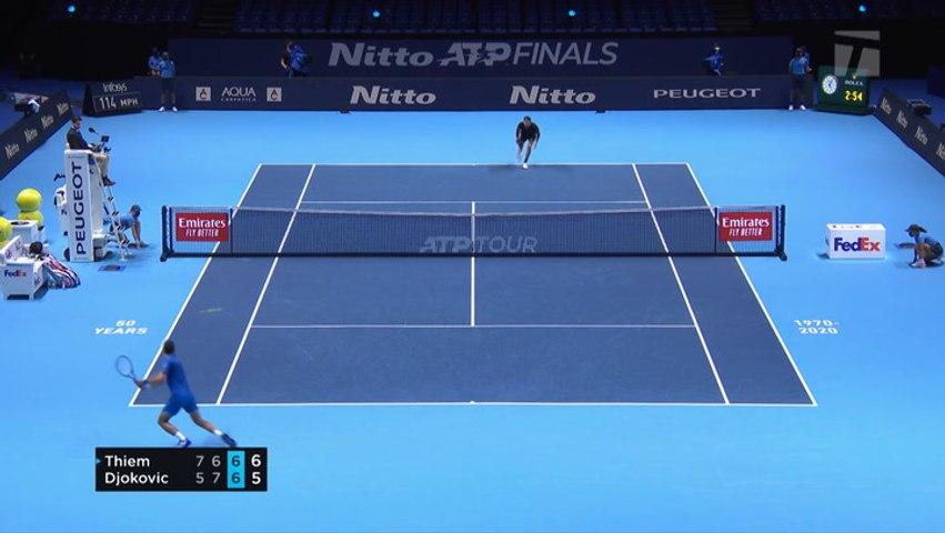 2020 Nitto ATP Finals Day 7 Recap