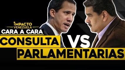 Consulta Vs Parlamentarias   Cara a cara Impacto Venezuela
