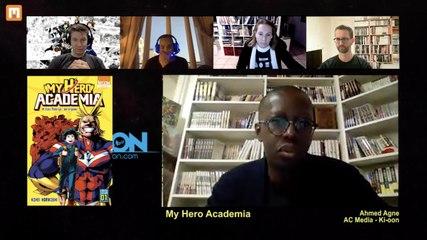 Morning Manga 2 - Partie 2 - Invité Ahmed Agne de Ki-oon