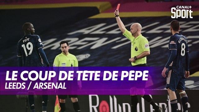 Nicolas Pépé exclu pour un coup de tête sur Alioski