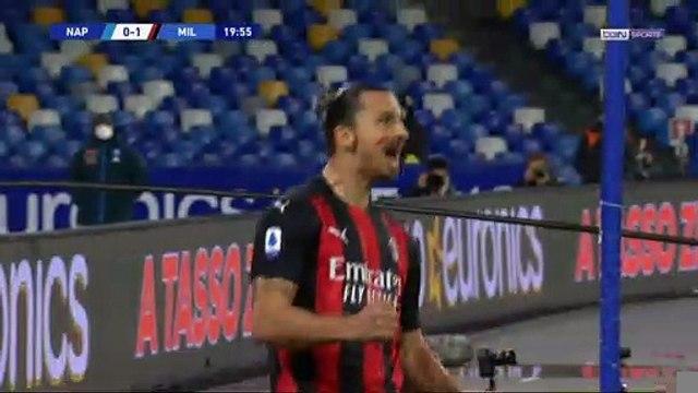 Serie A - AC Milan : Zlatan Ibrahimovic, une tête imparable !
