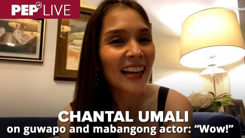 Chantal Umali hindi malimutan ang kaguwapuhan at bango ng aktor na ito   PEP Live Choice Cuts