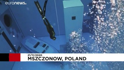 عمیقترین استخر شنای جهان در لهستان افتتاح شد