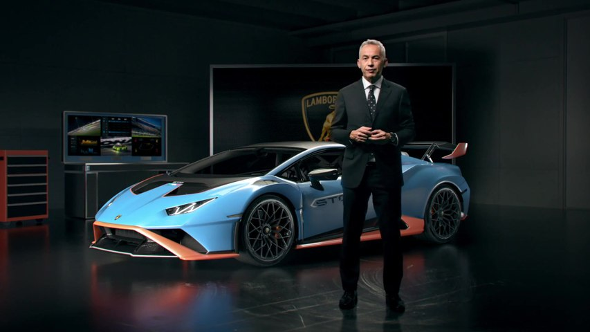 The new Lamborghini Huracán STO - Maurizio Reggiani, Chief Technical Officer