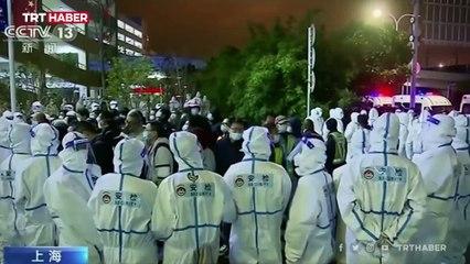Şanghay Havalimanı'nda koronavirüs paniği