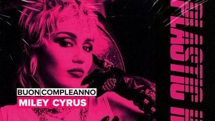 Buon compleanno Miley Cyrus