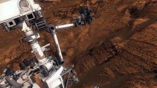 Huellas geológicas de una megainundación en el ecuador de Marte