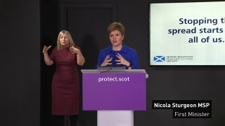 Sturgeon: Families in Scotland likely to meet for Christmas
