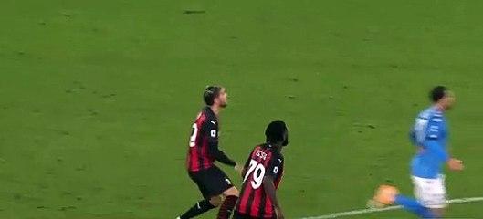 Passe de IB vs Napoli