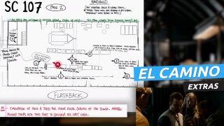 El Camino: Una película de Breaking Bad - Extra Storyboard