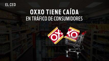 Oxxo registra caída de tráfico y número de tiendas
