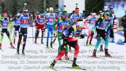 Kontiolahti, Oberhof, Pokljuka ... der Biathlon-Weltcup-Kalender 2020/2021