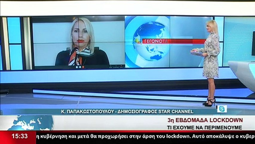 Η Δημοσιογράφος Κ. Παπακωστοπούλου, στο Star K.E.
