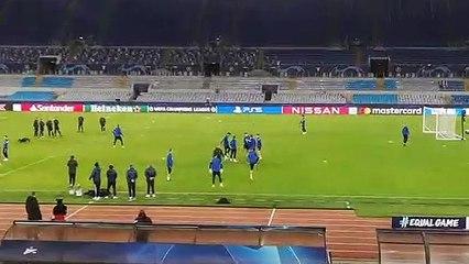 Lazio, all'Olimpico la rifinitura dello Zenit