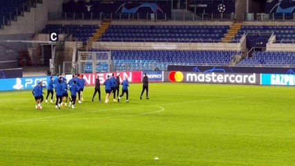 Zenit, l'allenamento di rifinitura all'Olimpico