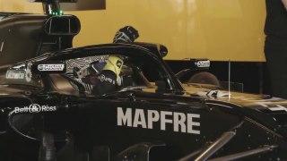 Los test de Fernando Alonso con el Renault de 2018, desde dentro