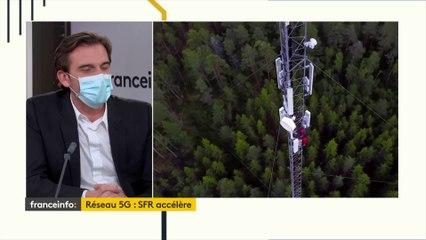 """Réseau 5G : Grégory Rabuel, directeur général de SFR, estime que """"le bon sens l'emportera"""""""