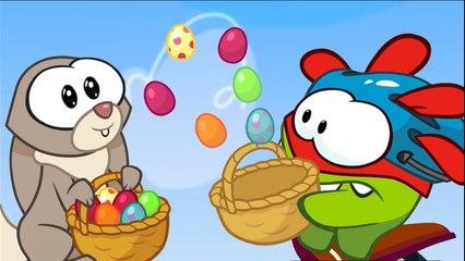 Om Nom Stories: Super-Noms - Easter Stir - Funny cartoons for kids