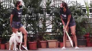 Malaika Arora ने बेटे  Arhaan Khan खेला क्रिकेट; देखिए वीडियो | FilmiBeat