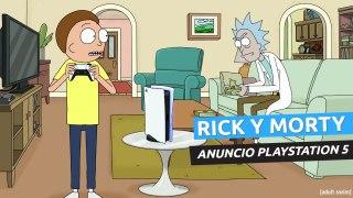 Rick and Morty - Anuncio PlayStation 5