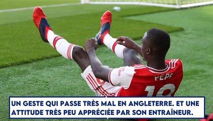 Arsenal : Nicolas Pepe expulsé, le mauvais virage ?
