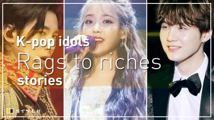 5 Korean pop stars that went from rags to riches