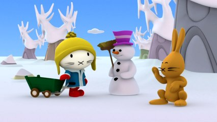 Musti - The snowman - Funny cartoons for kids