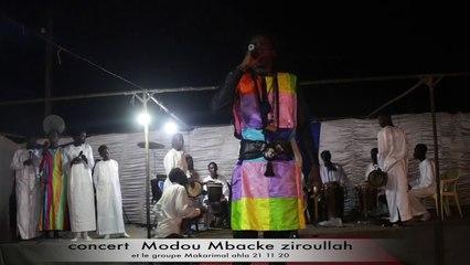 conncert Modou MBACKE Zikroullah en integralite