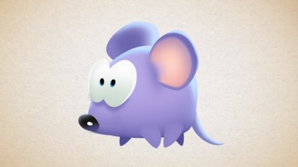 Om Nom Stories: How to Draw Mouse from Cut the Rope Magic - Funny cartoons for kids