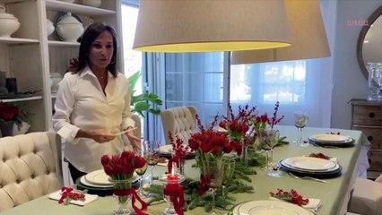 Cómo decorar la mesa para Navidad por Asun Antó, de Coton et Bois