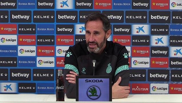 Rueda de prensa de Vicente Moreno previa al partido contra el Leganés (24/11/20)