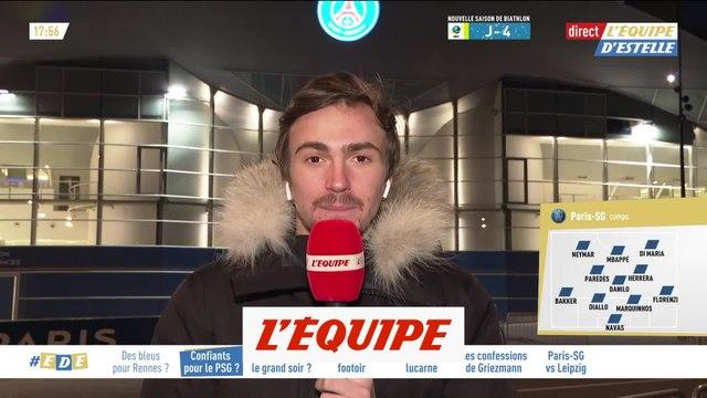 Une attaque Di Maria-Neymar-Mbappé contre Leipzig - Foot - C1 - PSG
