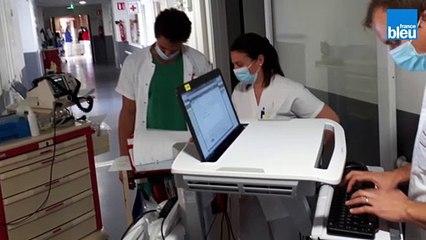 Hôpital d'Avignon : au cœur des unités Covid