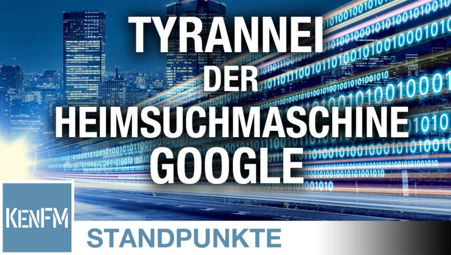 Die Tyrannei der Heimsuchmaschine Google | Von Anna Zollner