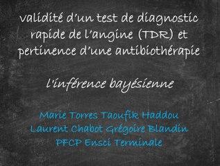 Test de diagnostic rapide des angines