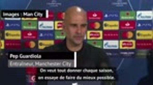 """Groupe C - Guardiola : """"Cette saison, je la sens super bien"""""""
